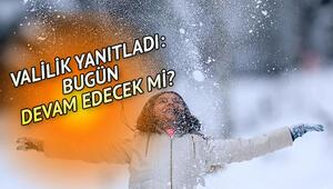 Bugün hava nasıl olacak İstanbulda ve Ankarada kar yağacak mı