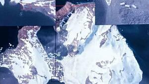 Antartikadaki Türk Bilim Üssü Göktürk uydusuyla fotoğraflandı