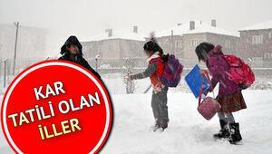 Kar tatili olan iller hangileri Erzurum, Denizli, Kayseri ve Uşak'ta okullar tatil mi