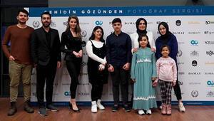Şehit çocuklarının çektiği fotoğraflardan oluşan Şehidin gözünden sergisi açıldı