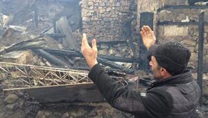 4 ev ve 3 ahırın yandığı mahallenin muhtarı:Cehennemi yaşadık