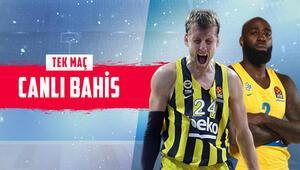 Fenerbahçe Beko için mesaj maçı Rakip Maccabi, iddaada öne çıkan ise...