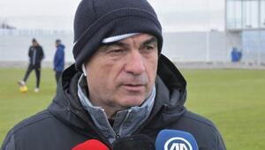 Rıza Çalımbay: Başakşehir maçının hazırlıklarını yapamıyoruz