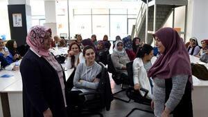 Madenci kadınlara yönelik eğitim çalışması