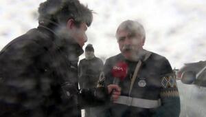 Çığ altında kalan itfaiye amiri, DHAya bir saat önce röportaj vermişti