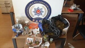Adıyamanda uyuşturucu operasyonu: 11 tutuklama