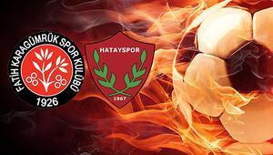 Fatih Karagümrük Hatayspor maçı ne zaman saat kaçta hangi kanalda