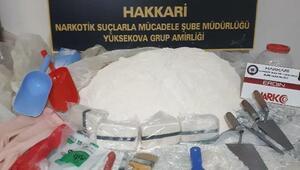 Yüksekovada 30 kilo 500 gram eroin ele geçirildi