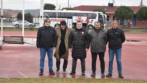 Balıkesirspordan Adana Demirspor Başkanı Murat Sancaka teşekkür