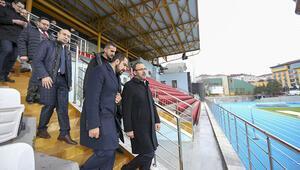 Burhan Felek Stadı kapılarını açıyor