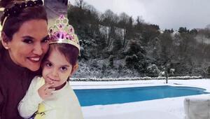 Demet Akalın, kızıyla karın keyfini çıkarttığı anları sosyal medya hesabından paylaştı