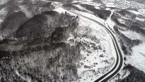 Zonguldakta bulunan 148 köy yolu ulaşıma kapandı