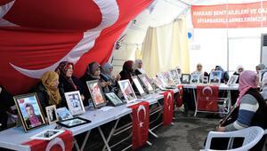 Diyarbakırda HDP önündeki eylemde 159uncu gün