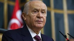 Son dakika: MHP lideri Bahçeliden Mustafa Akıncı tepkisi