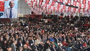 CHP İzmir İl Kongresi Kültürpark Celal Atik Spor Salonunda başladı