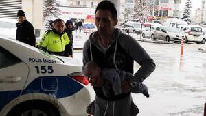 Saniyelerle yarıştılar Trafik polisleri yetiştirdi