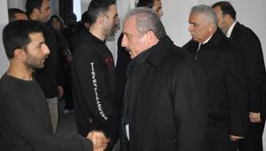 TBMM Başkanı Mustafa Şentop, uçak kazasında ölen diş hekiminin ailesini ziyaret etti