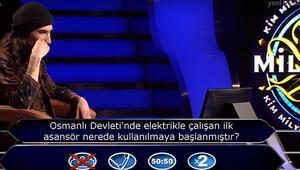 Osmanlı Devletinde elektrikle çalışan ilk asansör nerede kullanılmaya başlanmıştır