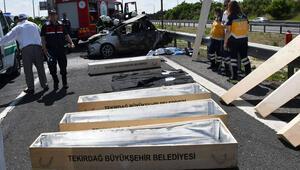 5 kişinin yanarak öldüğü kaza ile ilgili flaş gelişme
