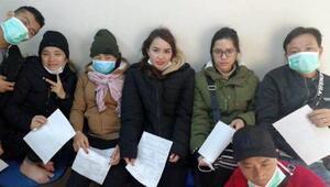 Malkarada 7 Vietnamlı yakalandı Maskeleri dikkat çekti