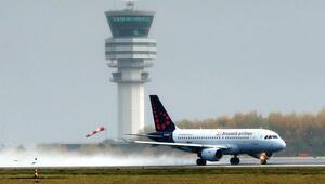 Brüksel'de Ciara fırtınası nedeniyle 60 uçuş iptal edildi