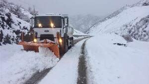 Şırnakta eğitime kar engeli