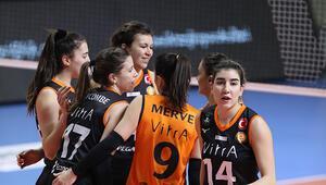 Beşiktaş: 0-3 Eczacıbaşı VitrA