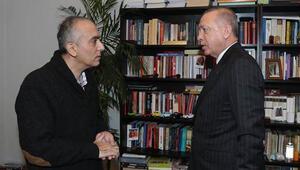 Cumhurbaşkanı Erdoğan, Markar Esayanı evinde ziyaret etti