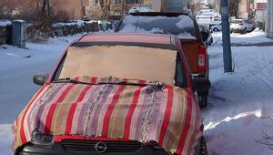 Ardahan'da Sibirya soğukları