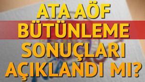 ATA AÖF büt sonuçları için gözler duyurulara çevrildi