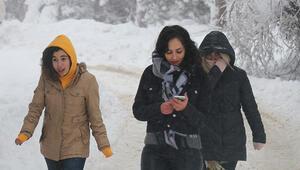 Bayburt'ta Sibirya soğukları yaşanıyor