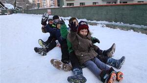 Artvinde okullara kar tatili