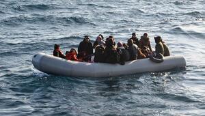 Ayvalık'ta 42 düzensiz göçmen yakalandı
