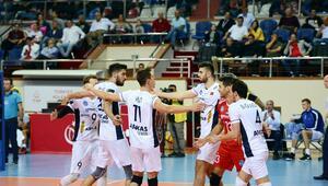 Arkas Spor, CEV Kupasında çeyrek final için sahada