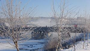 Ardahan Buz şehre döndü: Termometreler eksi 38i gördü