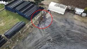 İstanbulda ele geçirildi Yerin altından böyle çıkardılar…