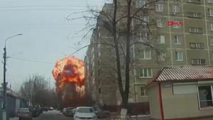 24 bin evi etkileyen patlama kamerada