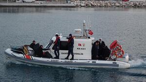 Ayvacıkta 37 mülteci yakalandı