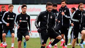 Beşiktaş tek eksikle çalıştı