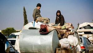 Rejimin saldırıları nedeniyle İdlibden kaçışlar sürüyor