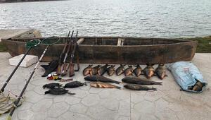 Konyada elektroşokla balık avına 420 bin lira ceza