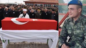 Şehit Uzman Onbaşı Enes Alper son yolculuğuna uğurlandı