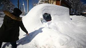 Kar Karadenizde yaşamı olumsuz etkiliyor