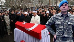 Şehit Uzman Onbaşı İbrahim Albayrak son yolculuğuna uğurlandı