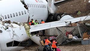 Pistten çıkan uçakla ilgili 165 kişinin ifadesi alındı