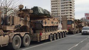 Şanlıurfadan Suriye sınırına askeri sevkiyat