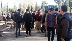 Osmaniyede 34 düzensiz göçmen yakalandı