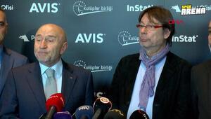 Kulüpler Birliği toplantısı sonrası Nihat Özdemirden açıklamalar
