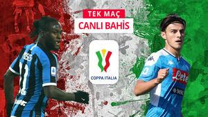 İtalya Kupasında dev randevu Interin Napoli önünde iddaa oranı...