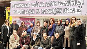 Kadınlardan pazar dayanışması